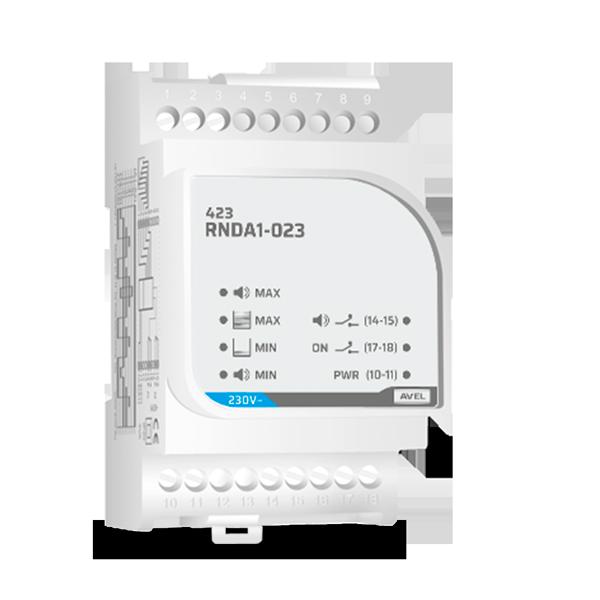 423RNDA1 - Controlo de enchimento + alarme